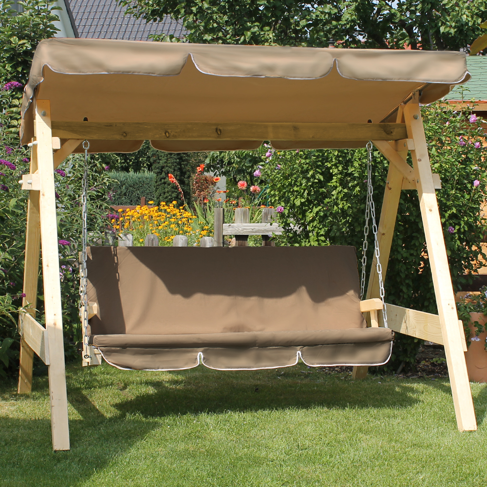 Image of: Covered Porch Swing Seat