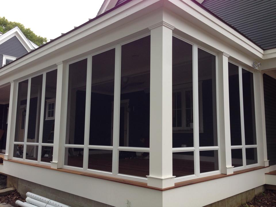 Image of: Custom Porch Enclosures