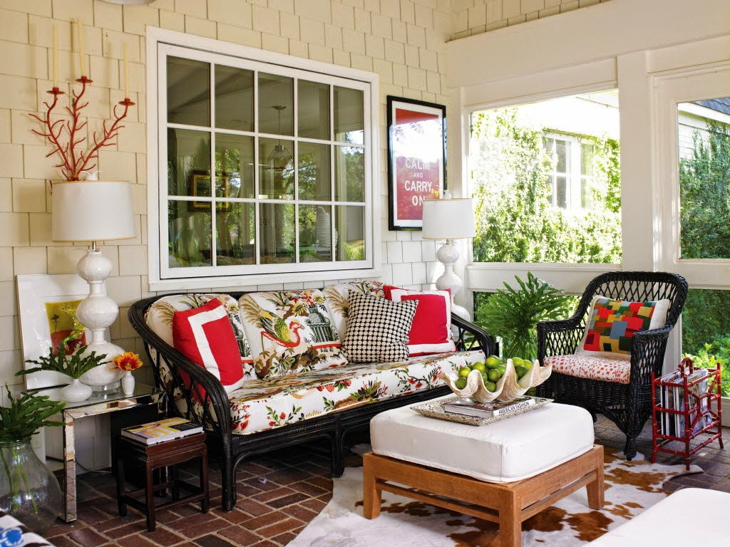 Image of: Cute Front Porch Decorating Ideas