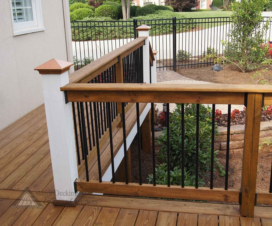 Image of: Cute Front Porch Railing Kit