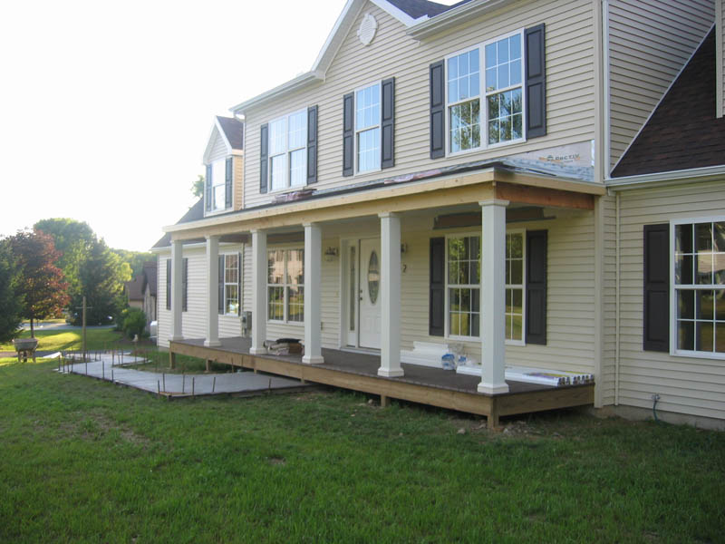 Image of: Cute Front Porches