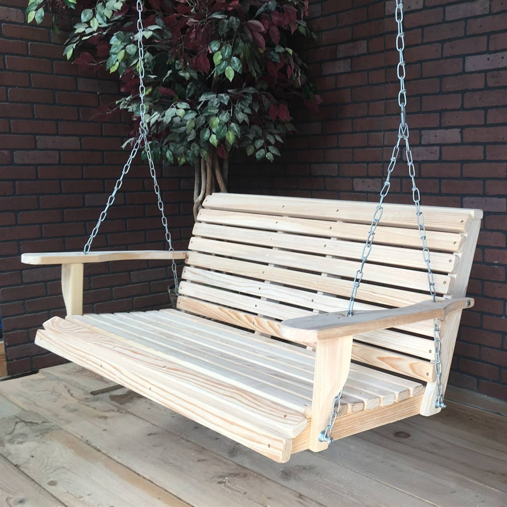Image of: Cypress Porch Swing Regular