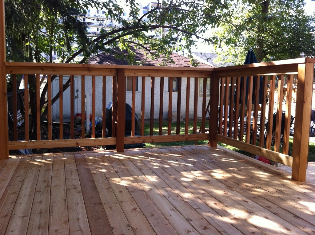Image of: DIY Porch Railing Design