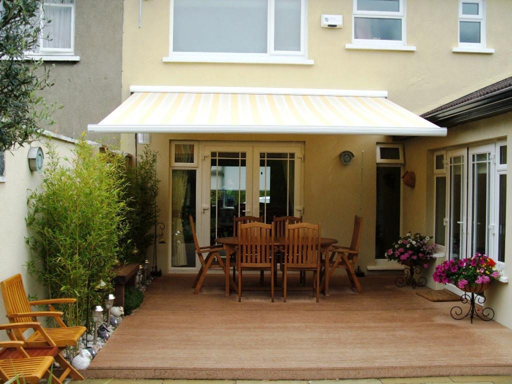 Image of: Decorate Porch Awnings For Home