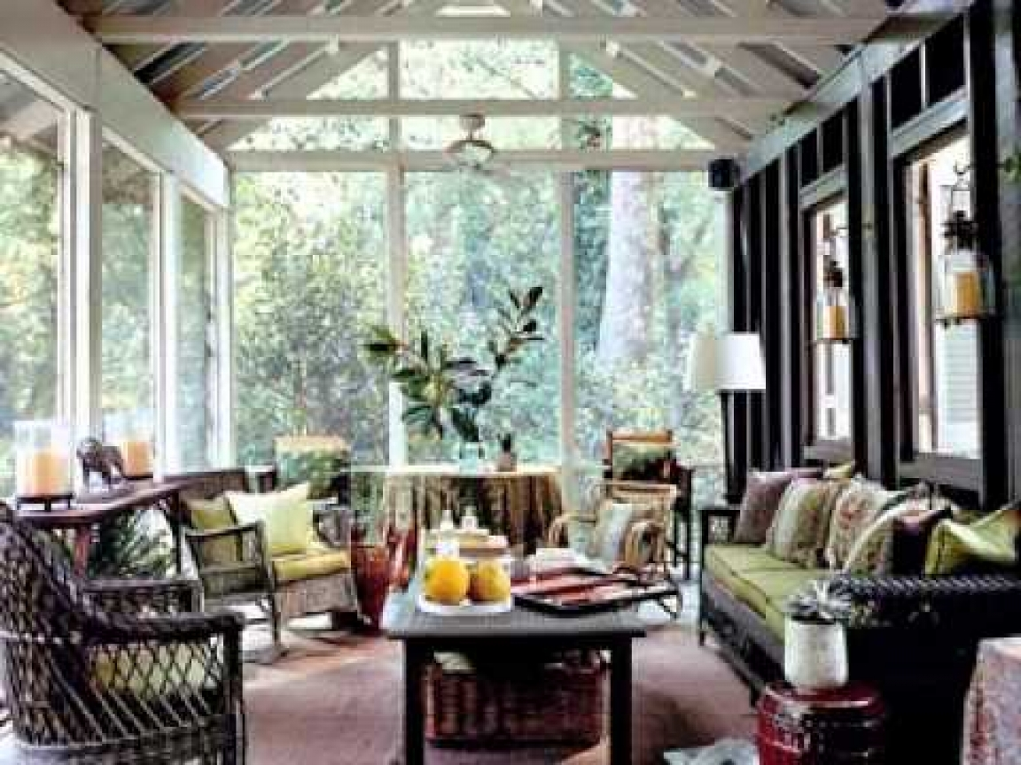 Image of: Decorating Back Porch Ideas