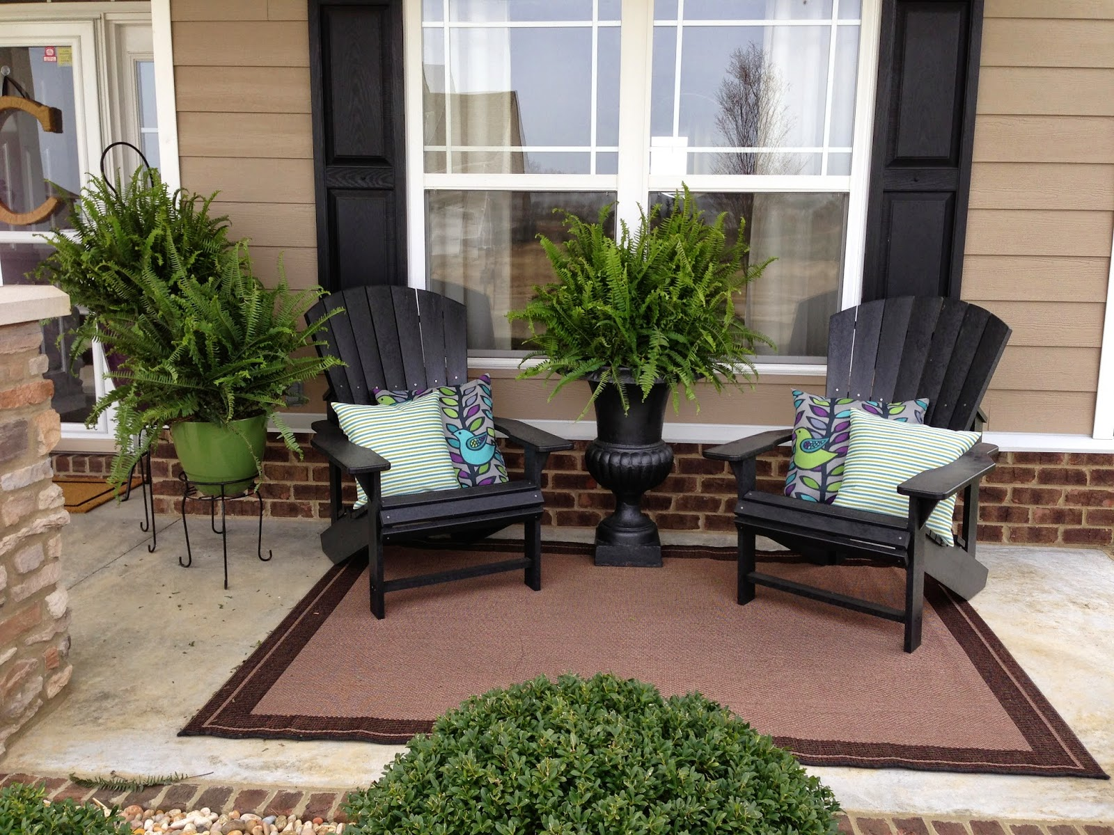 Image of: Decorating Front Porch Ideas