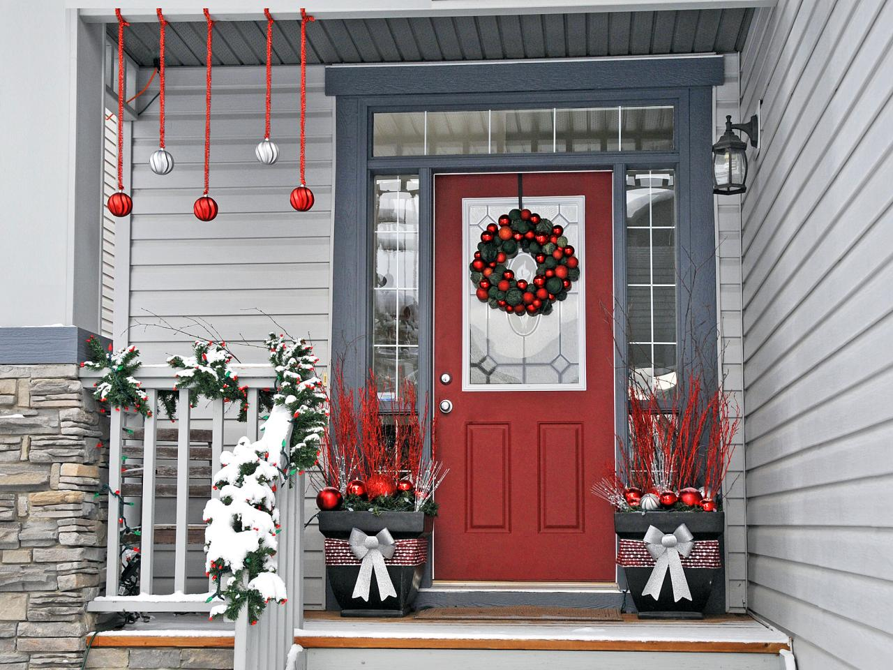 Image of: Decorating Front Porch Minimalist