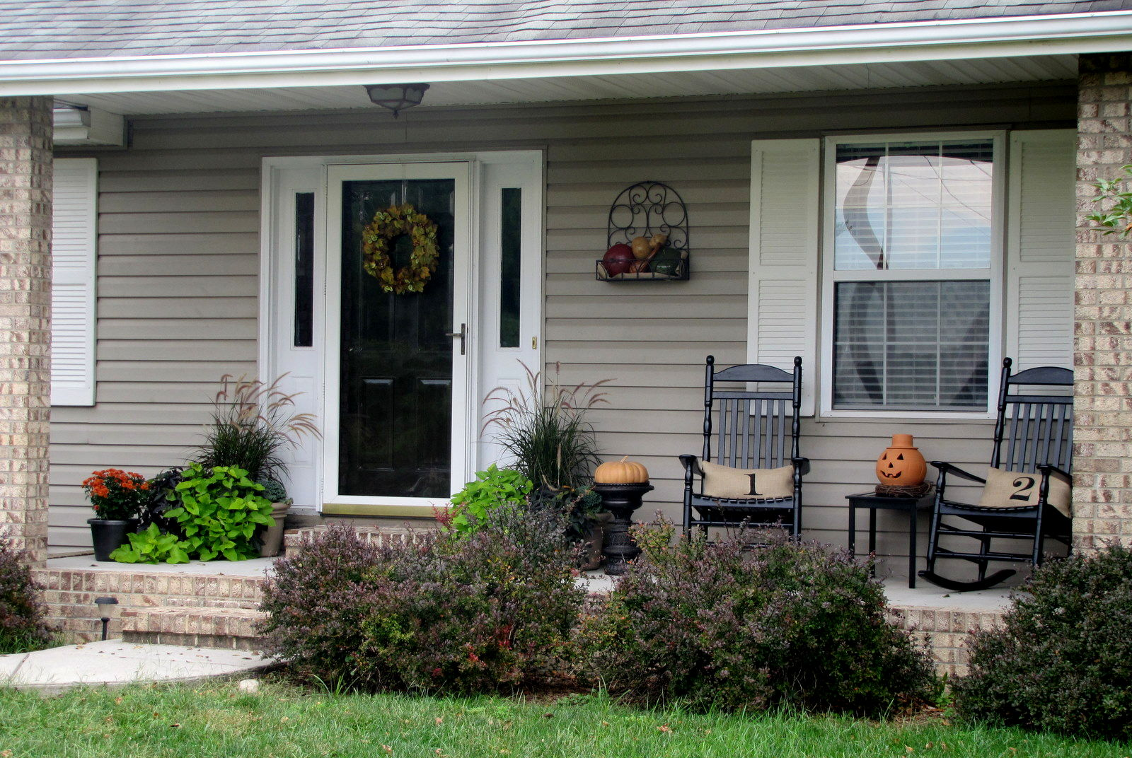 Image of: Decorating Front Porch Models