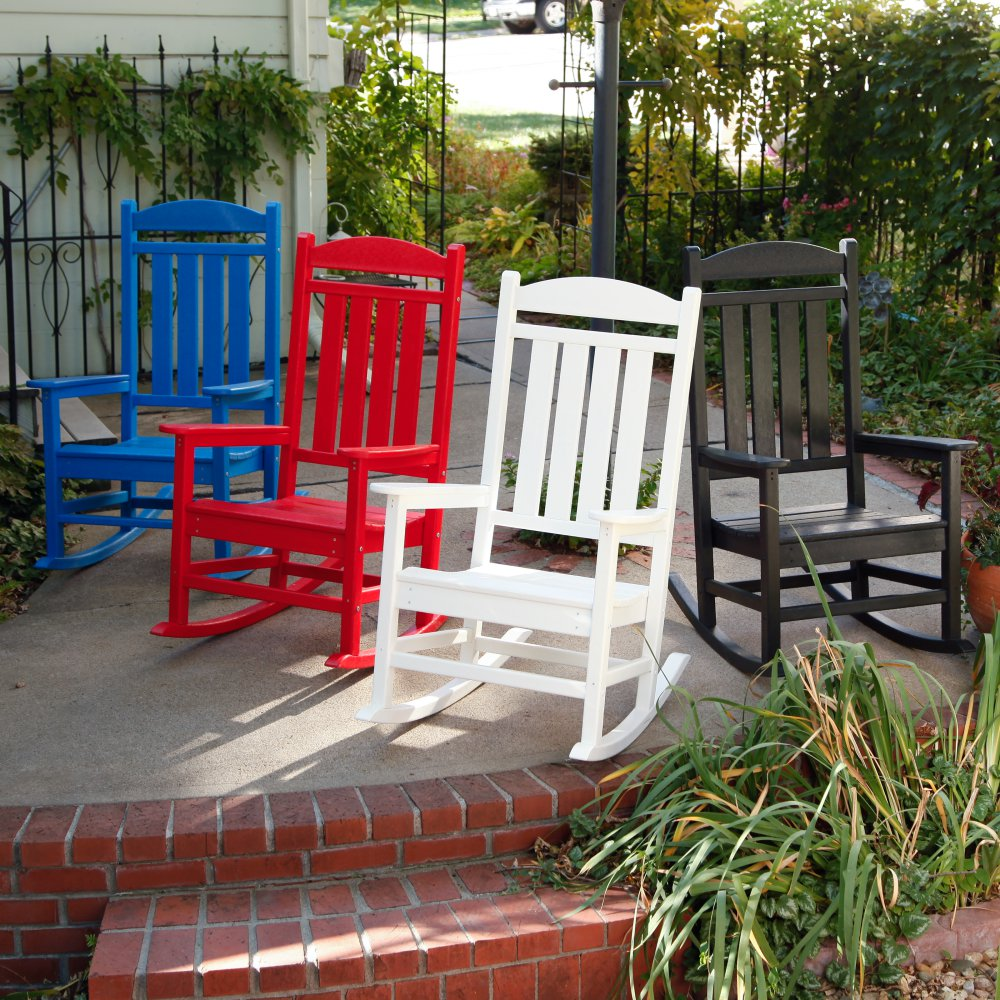 Image of: Design Front Porch Rocking Chairs
