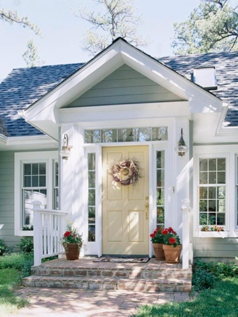 Image of: Designs Front Porch Ideas For Small Houses