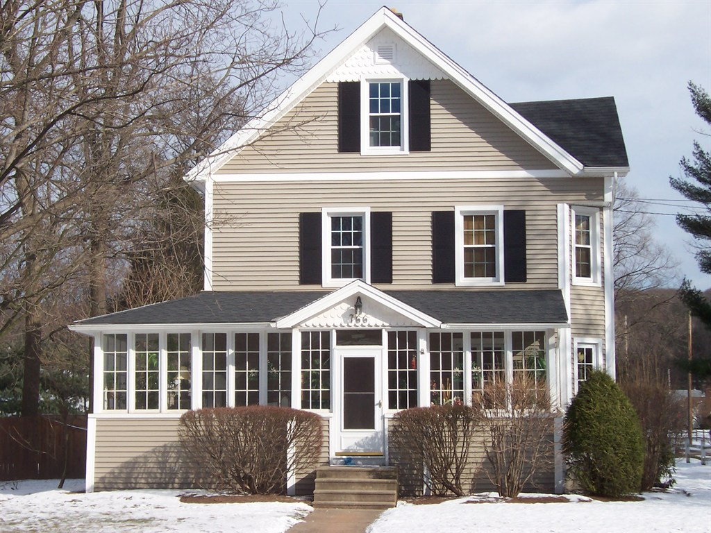 Image of: Enclosed Front Porch Before And After