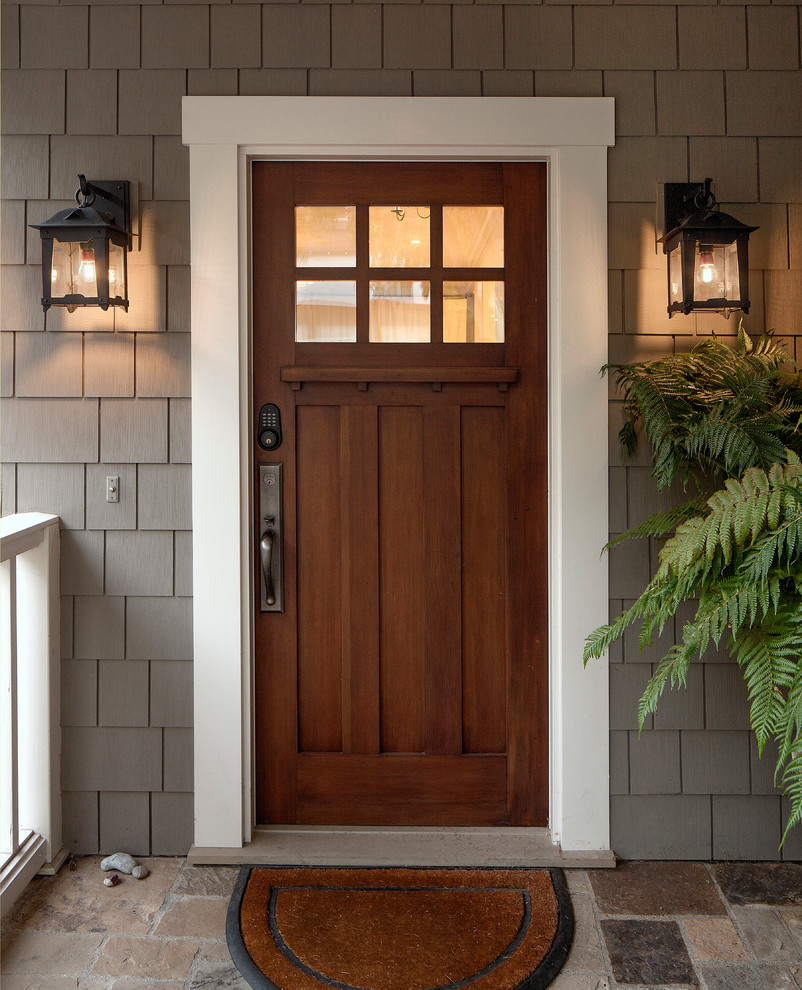 Image of: Exterior Flush Mount Porch Light