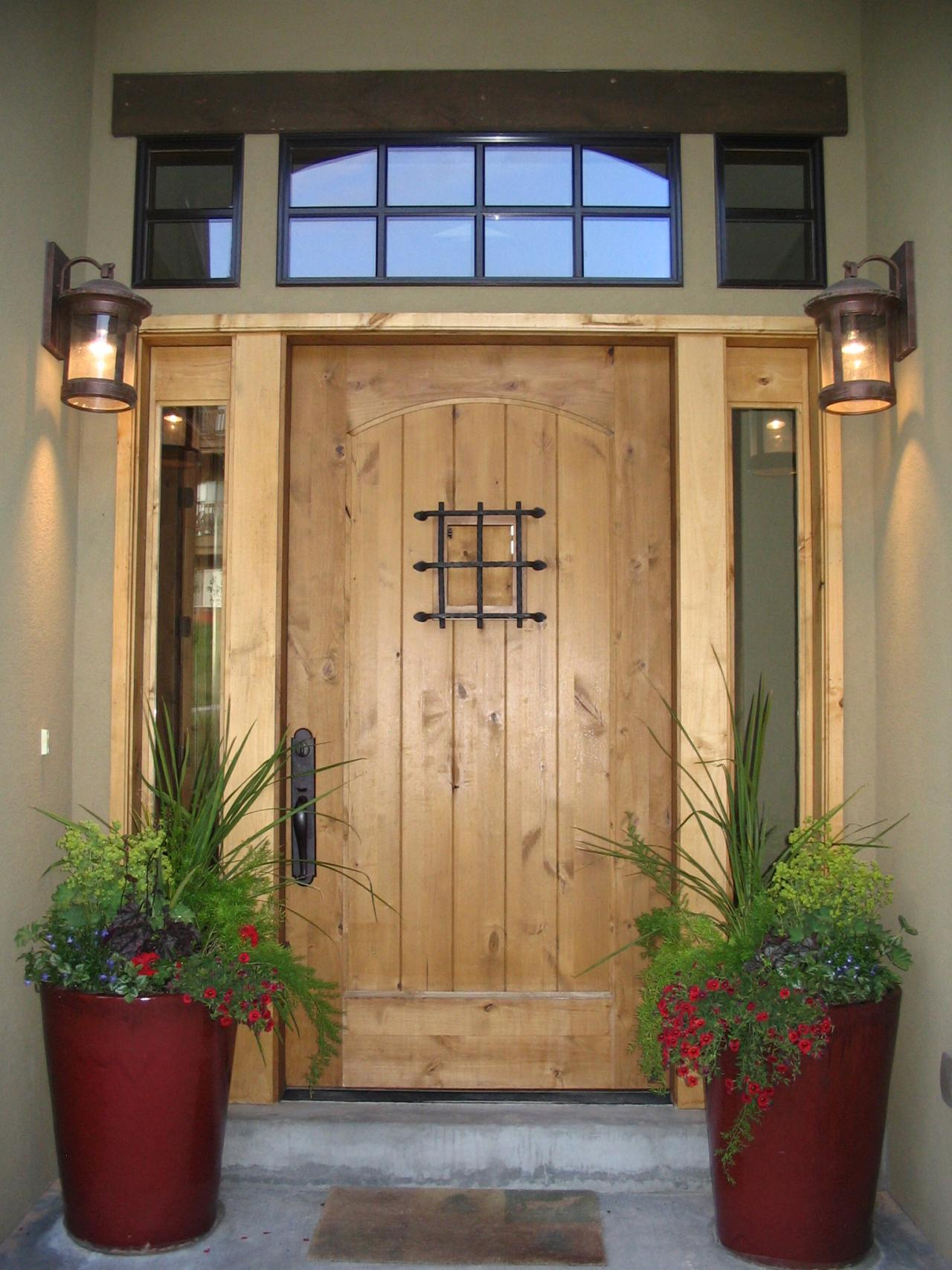 Image of: Exterior Porch Lights Placed
