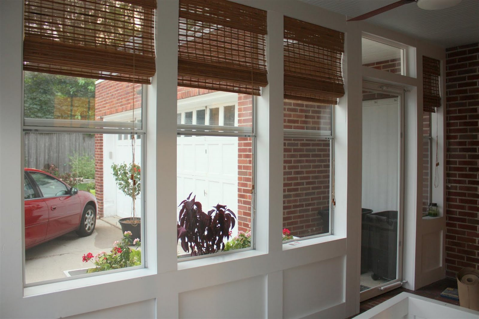 Image of: Famous Bamboo Porch Shades