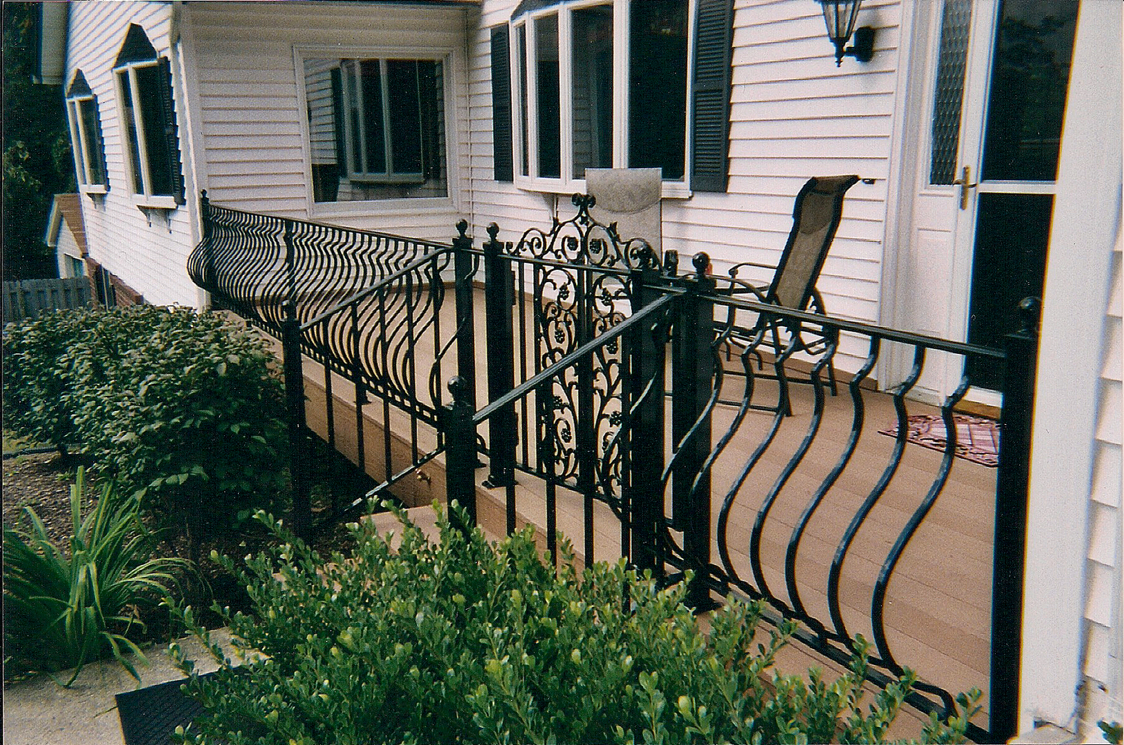 Image of: Famous Gate For Front Porch