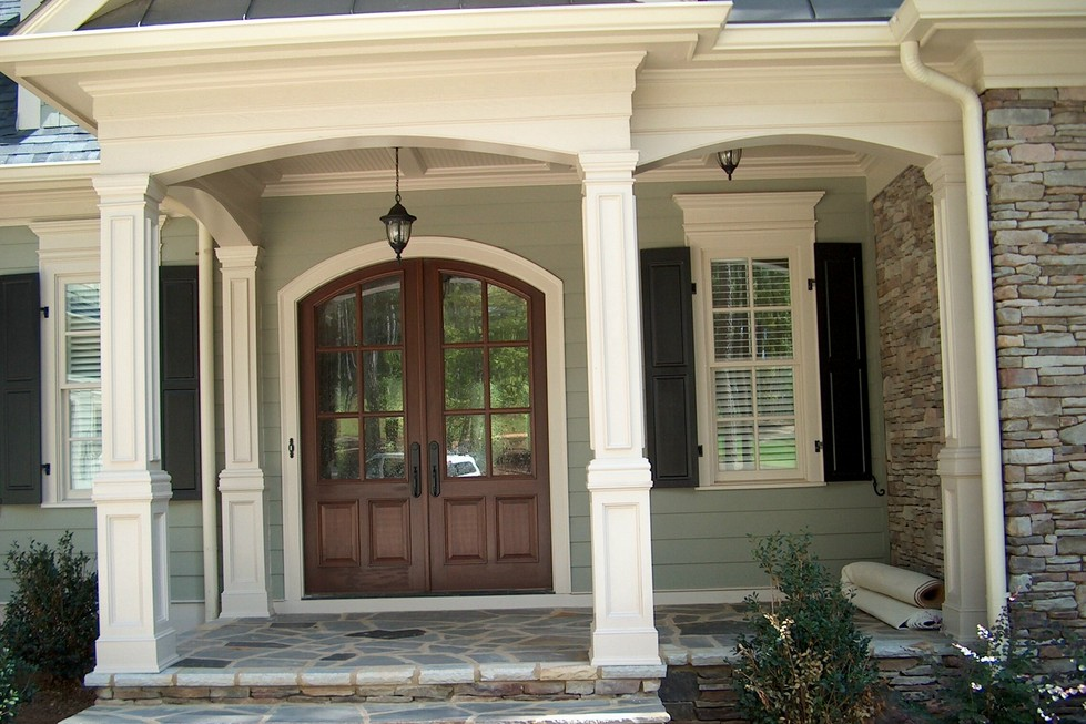 Image of: Fiberglass Porch Columns Pictures