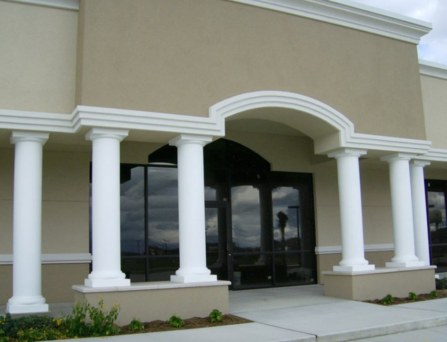Image of: Fiberglass Porch Columns