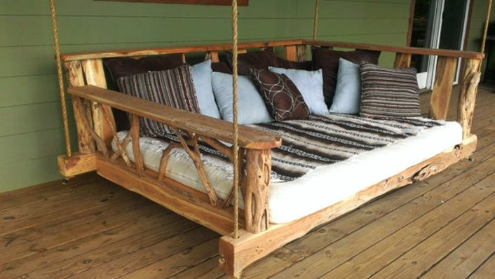Floating Diy Porch Swing Bed