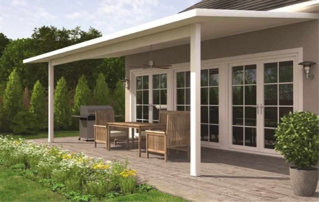 Image of: Front Back Porch Designs For Ranch Homes