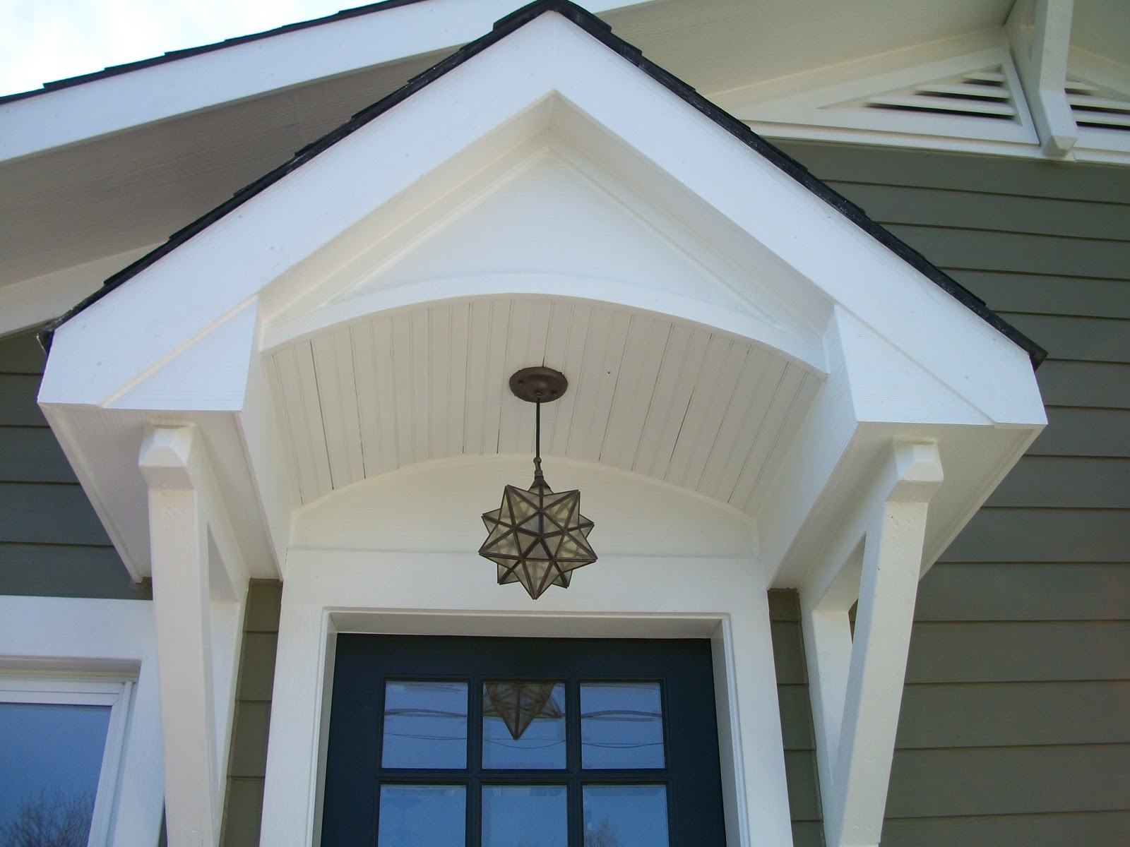 Image of: Front Ceiling Mount Porch Light