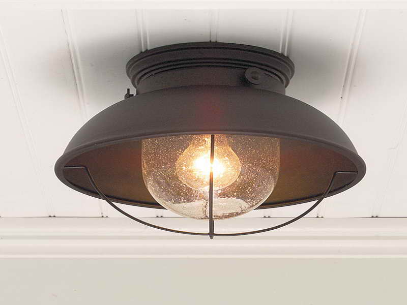 Image of: Front Porch Ceiling Light Best