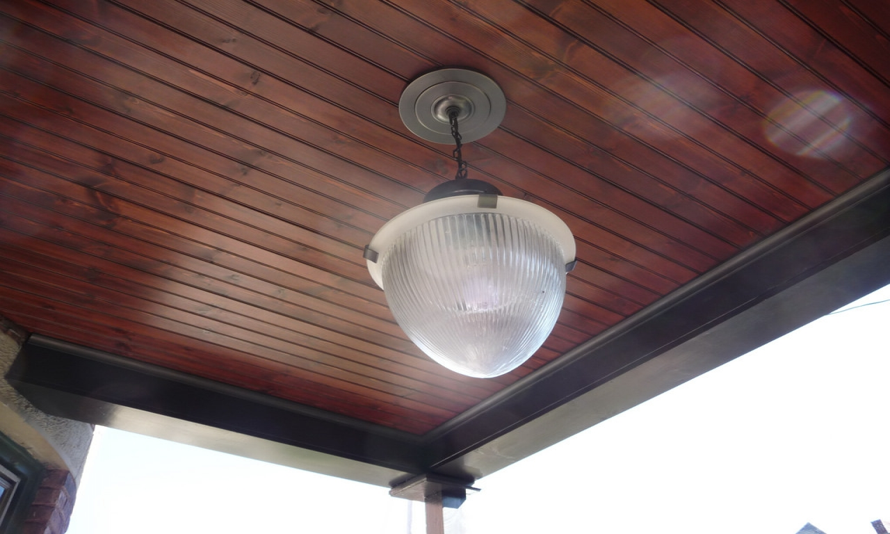 Image of: Front Porch Ceiling Light Design