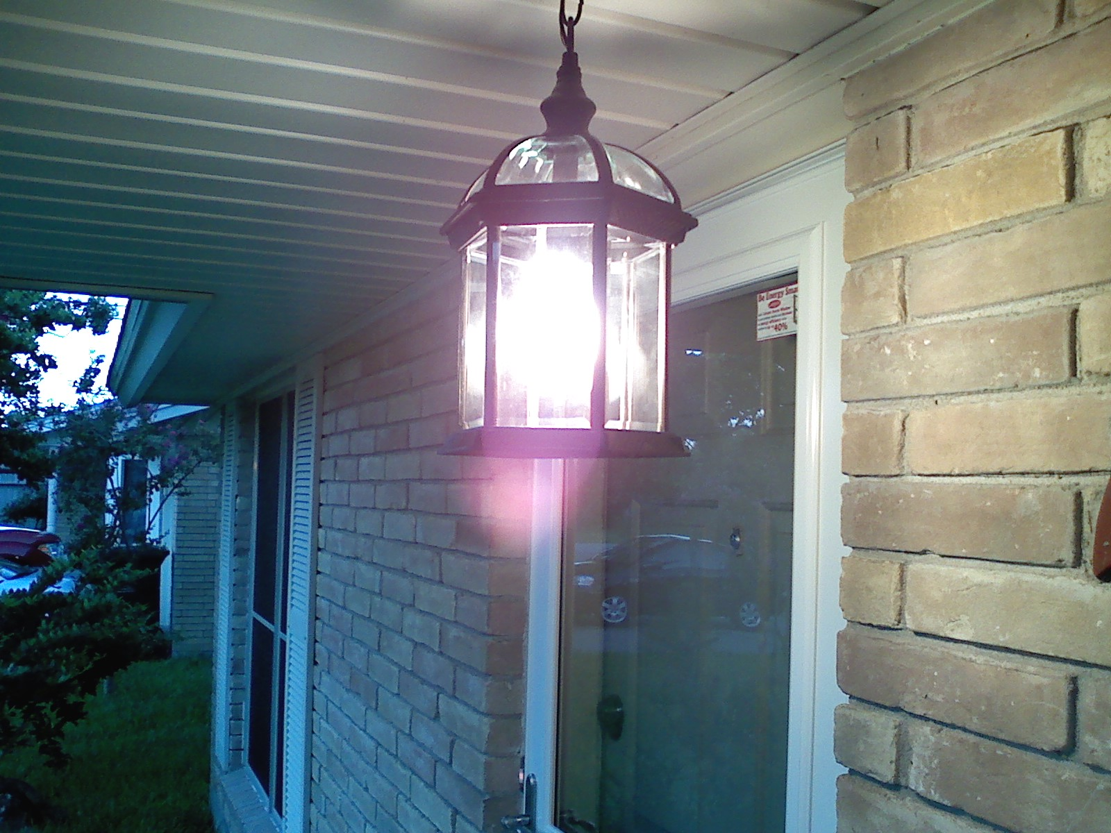 Image of: Front Porch Ceiling Light Inspirative