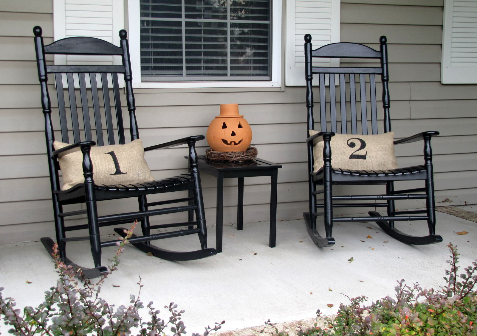 Image of: Front Porch Chairs Cushion