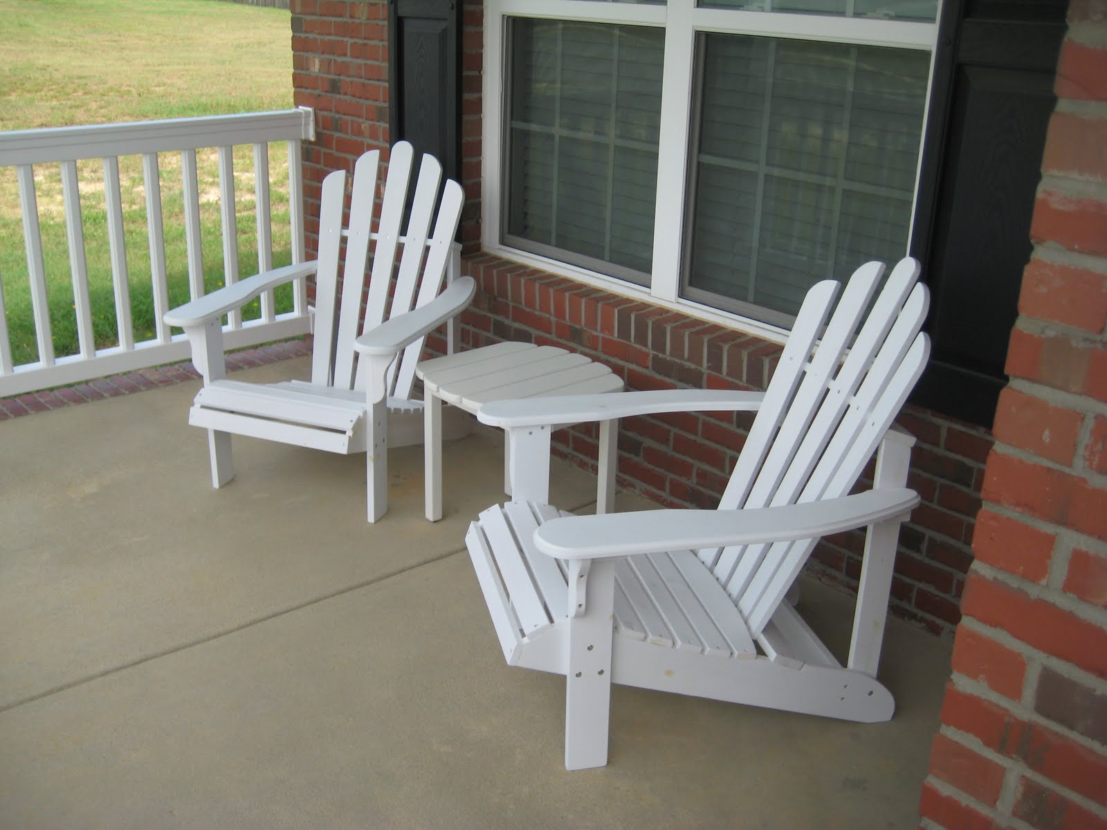 Image of: Front Porch Chairs Furniture