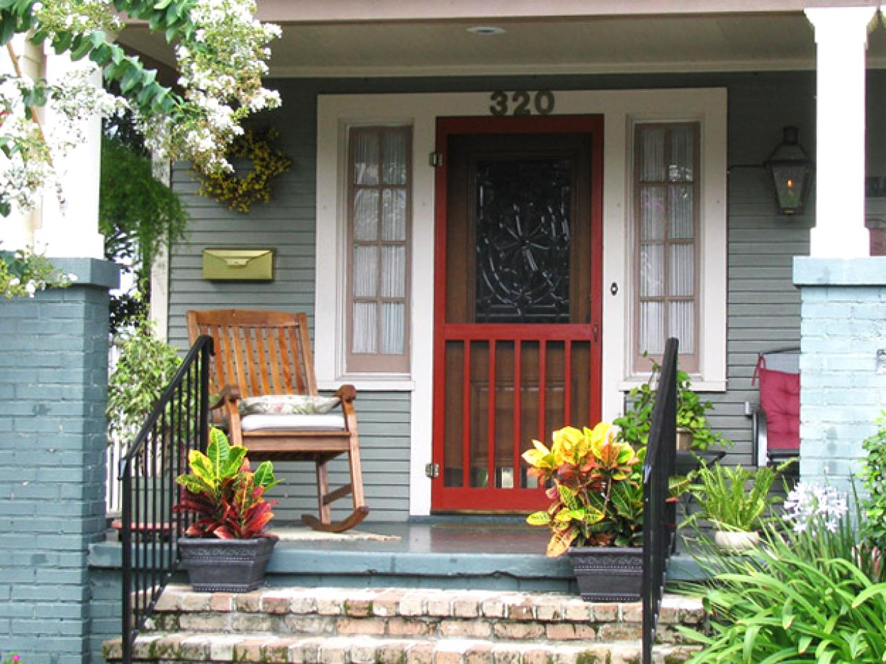 Image of: Front Porch Chairs Inspirations