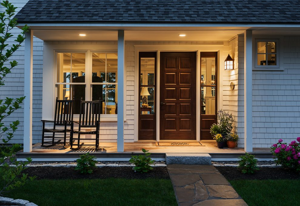 Image of: Front Porch Columns Designs