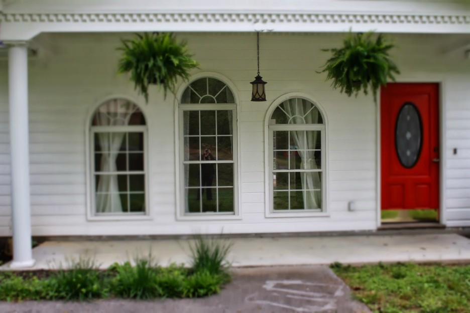 Image of: Front Porch Columns Paint