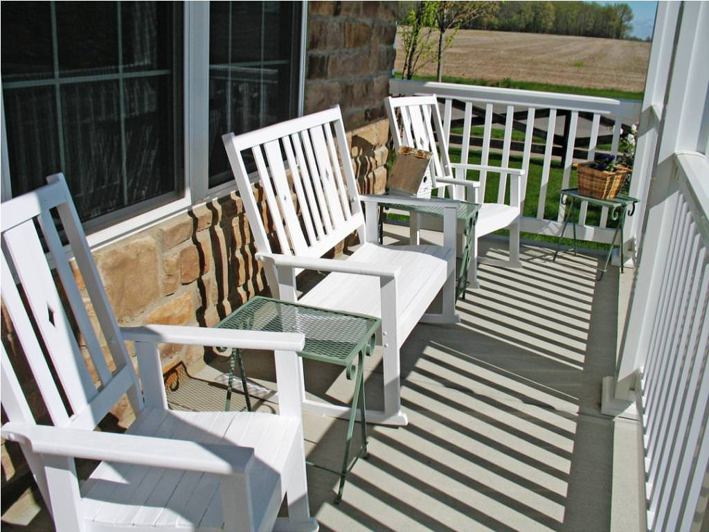 Image of: Front Porch Furniture Sets Style