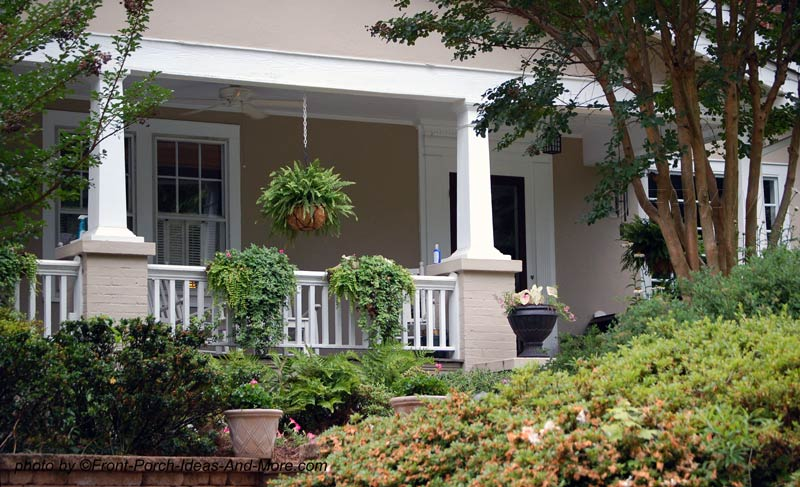 Image of: Front Porch Landscaping Ideas Landscaping