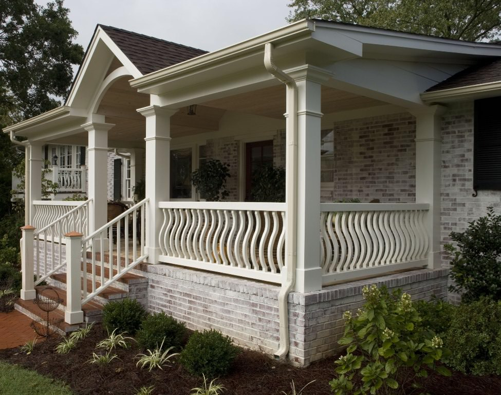Image of: Front Porch Plans Ideas