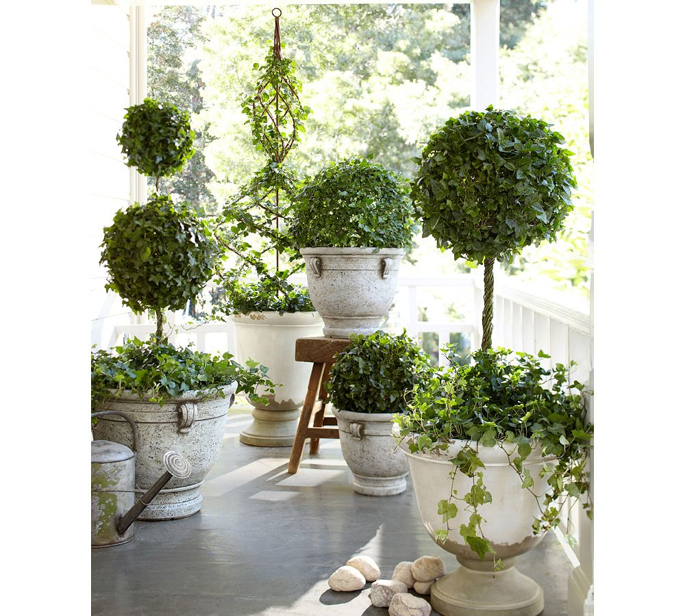 Front Porch Planters Decor