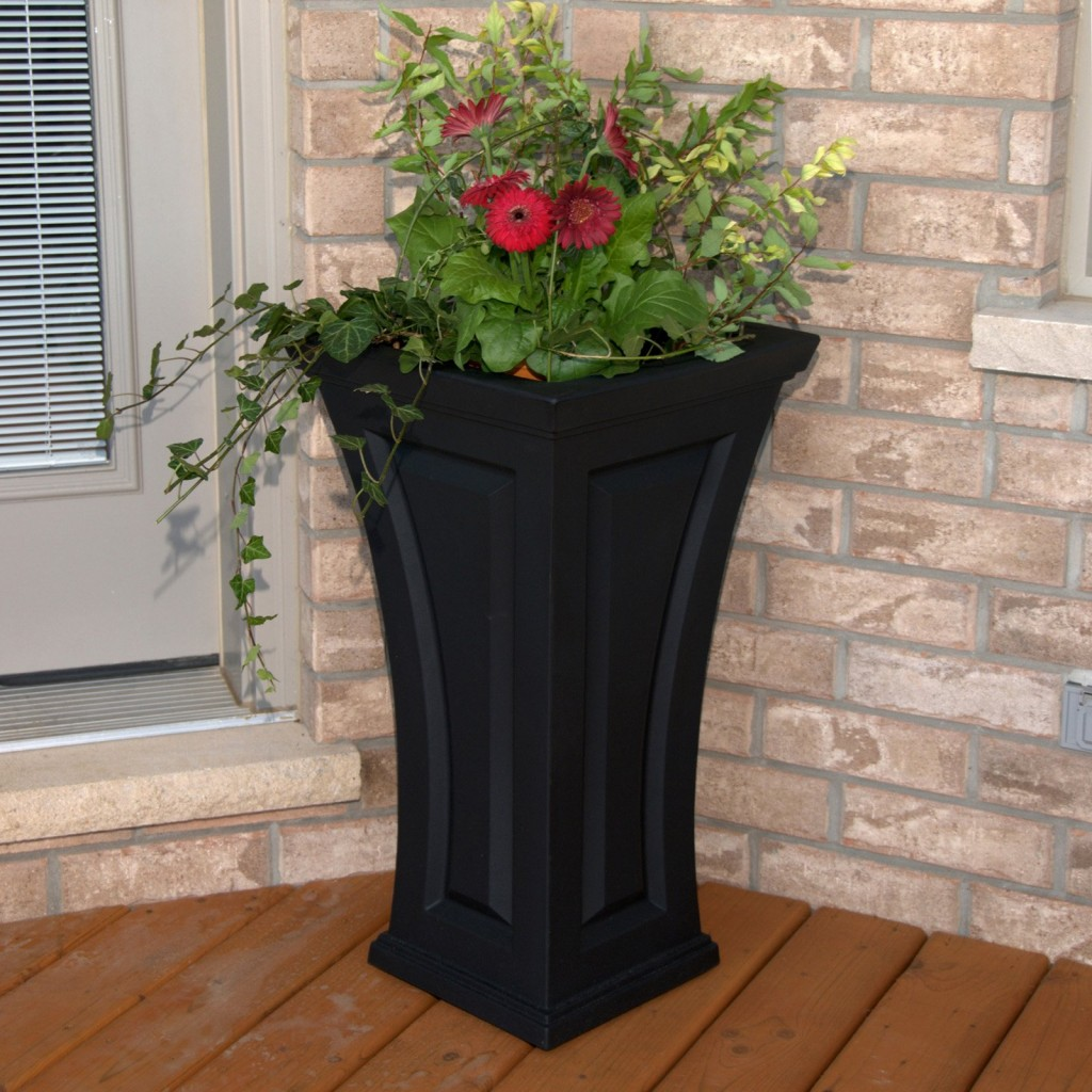 Image of: Front Porch Planters Tall