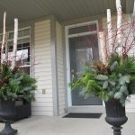 Front Porch Planters Winter