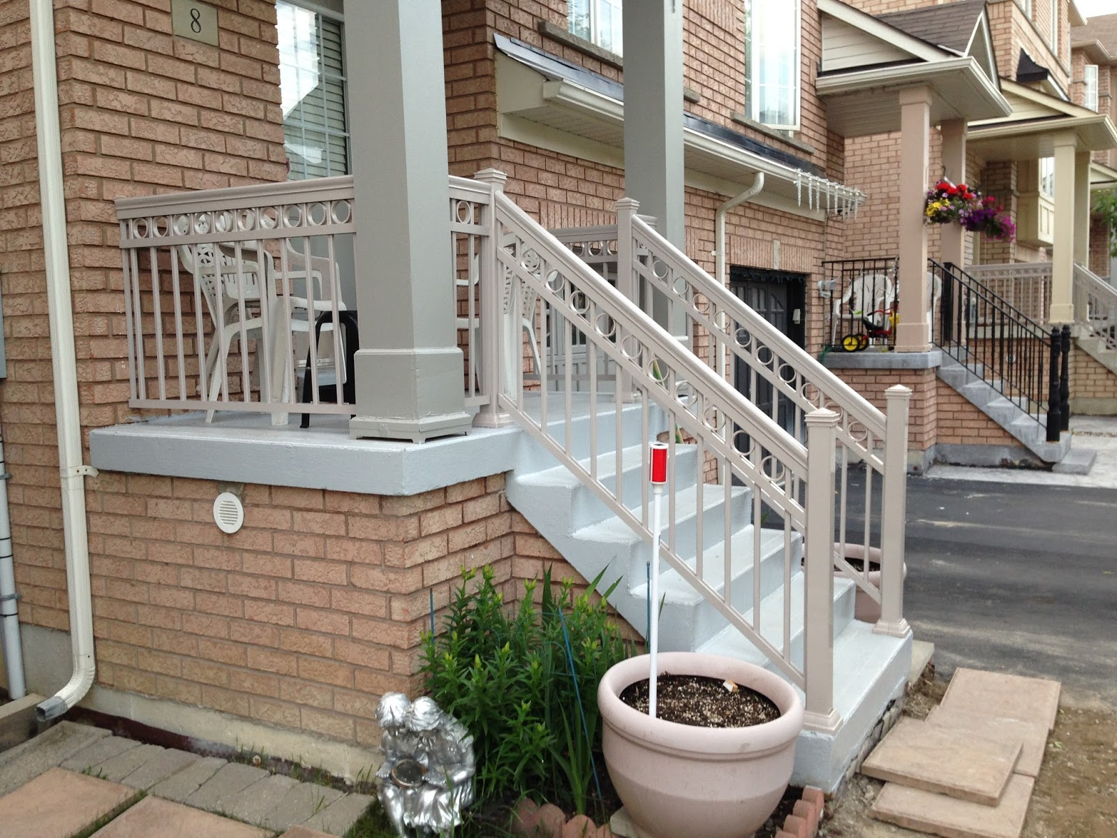 Front Porch Railings Models