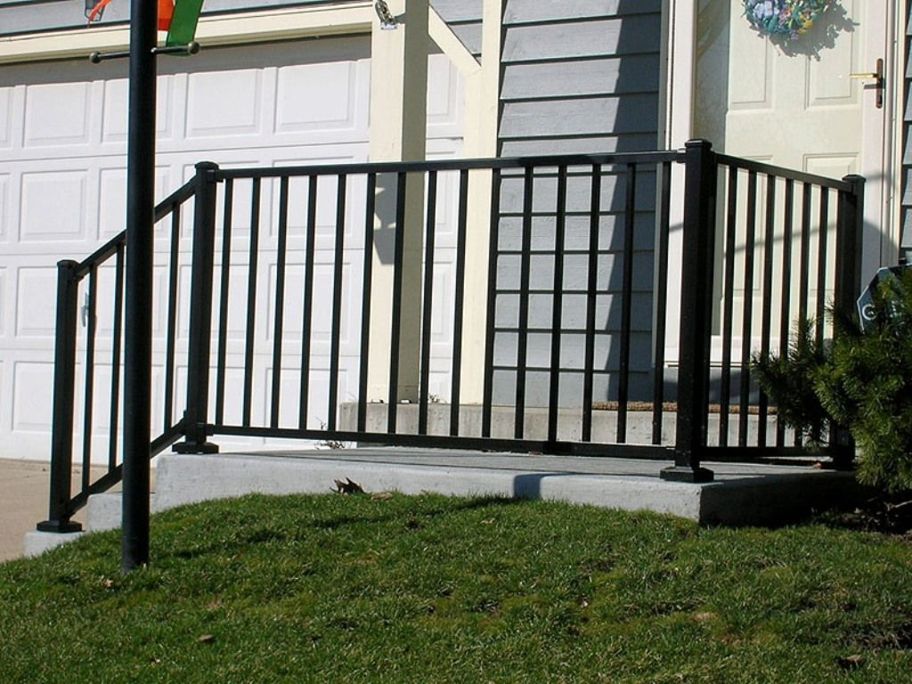 Image of: Front Porch Railings Picture