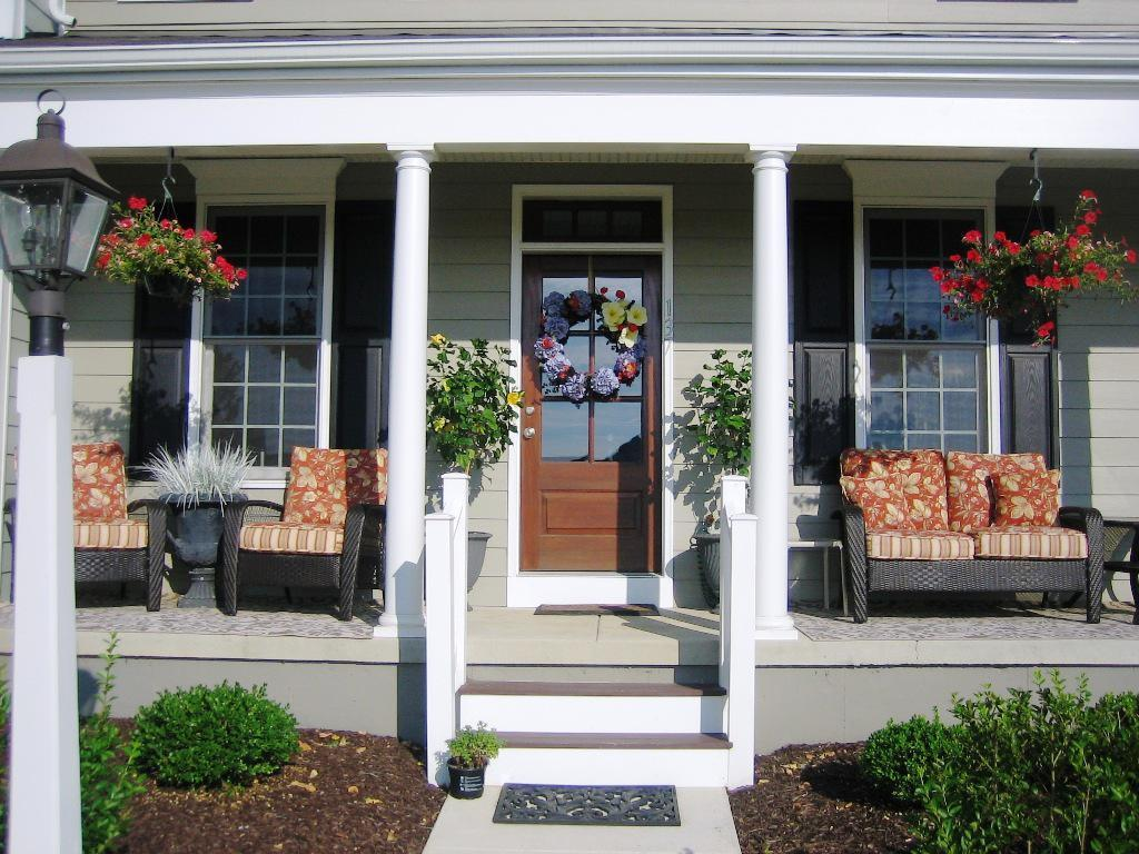Image of: Front Porch Seating Cushions
