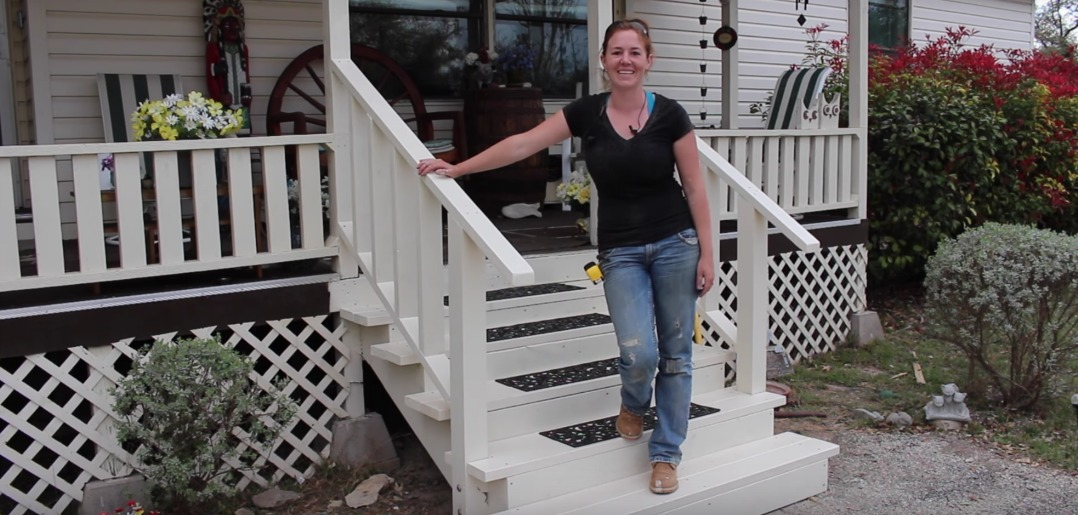 Image of: Front Porch Steps Home