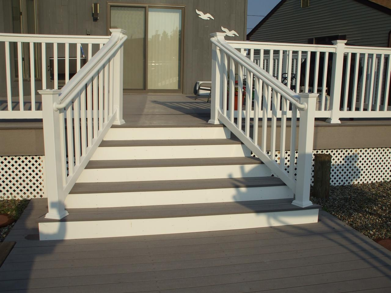 Image of: Front Porch Steps Paint