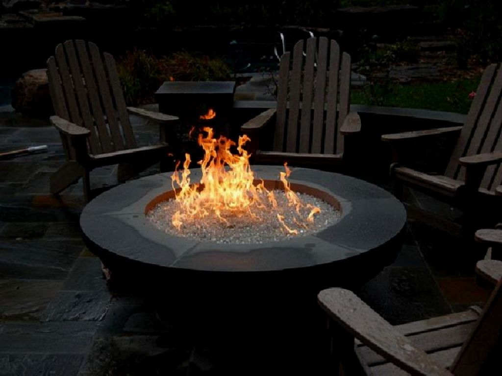 Image of: Gas Fire Pits For Patio