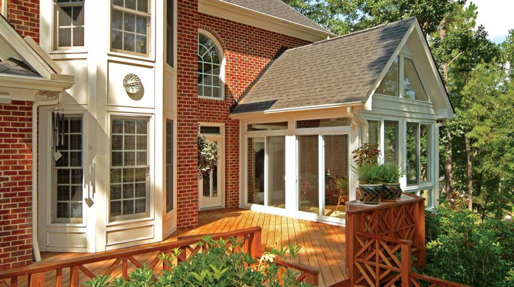 Image of: Glassed In Porch Design