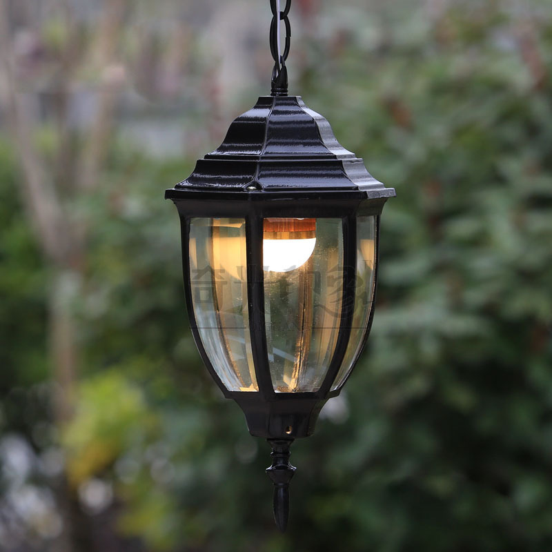 Image of: Good Hanging Porch Lights