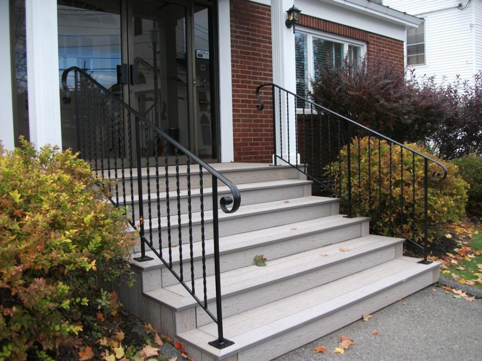 Image of: Hand Iron Porch Railing