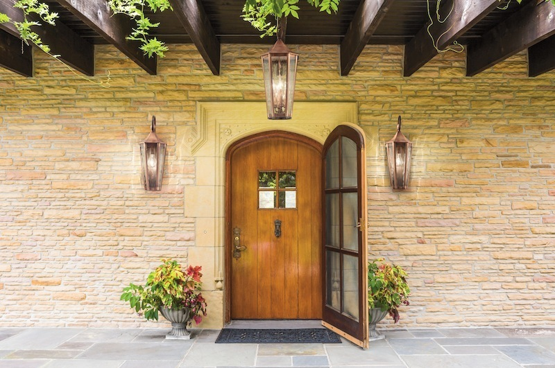 Image of: Hanging Exterior Porch Lights