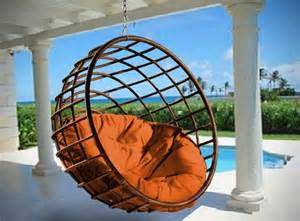 Image of: Hanging Porch Chair Outdoor