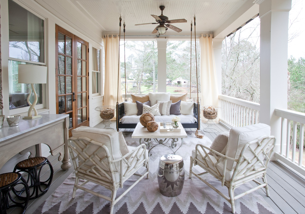 Image of: Hanging Porch Swings Decor
